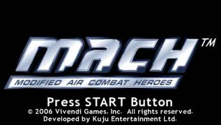 Обложка игры M.A.C.H. Modified Air Combat Heroes (PlayStation Portable - psp)