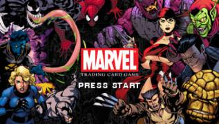 Обложка игры Marvel Trading Card Game (PlayStation Portable - psp)