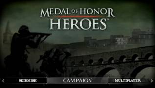 Обложка игры Medal of Honor: Heroes (PlayStation Portable - psp)