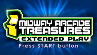 Обложка игры Midway Arcade Treasures: Extended Play (PlayStation Portable - psp)
