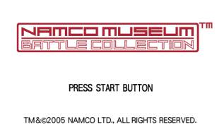 Обложка игры Namco Museum Battle Collection ( - psp)