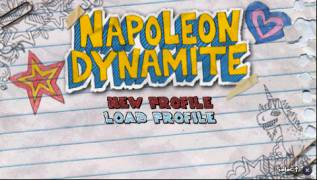 Обложка игры Napoleon Dynamite: The Game ( - psp)