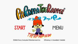 Обложка игры PaRappa the Rapper (PlayStation Portable - psp)