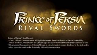 Обложка игры Prince of Persia: Rival Swords (PlayStation Portable - psp)