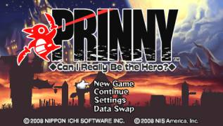 Обложка игры Prinny: Can I Really Be the Hero? (PlayStation Portable - psp)