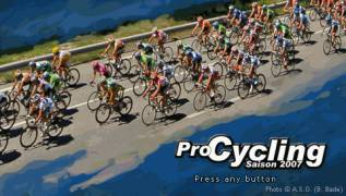 Обложка игры Pro Cycling Manager 2007 (PlayStation Portable - psp)