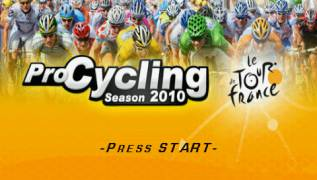 Обложка игры Pro Cycling Manager 2010 (PlayStation Portable - psp)