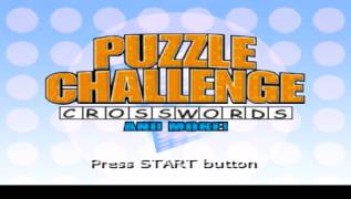 Обложка игры Puzzle Challenge: Crosswords and More (PlayStation Portable - psp)