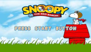 Обложка игры Snoopy vs. the Red Baron (PlayStation Portable - psp)