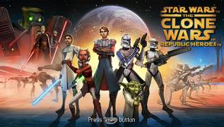 Обложка игры Star Wars: The Clone Wars - Republic Heroes (PlayStation Portable - psp)