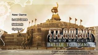Обложка игры Steambot Chronicles: Battle Tournament (PlayStation Portable - psp)