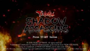 Обложка игры Tenchu: Shadow Assassins