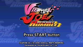 Обложка игры Viewtiful Joe: Red Hot Rumble (PlayStation Portable - psp)