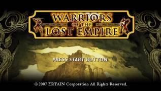 Обложка игры Warriors of the Lost Empire ( - psp)