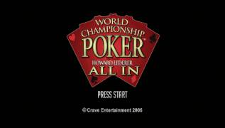 Игра World Championship Poker: Featuring Howard Lederer  (PlayStation Portable - psp)