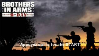 Обложка игры Brothers in Arms: D-Day (PlayStation Portable - psp)