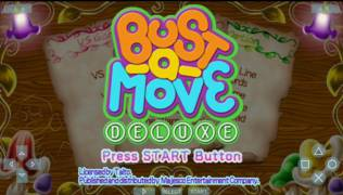 Обложка игры Bust-A-Move Deluxe (PlayStation Portable - psp)