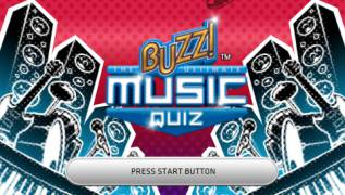 Обложка игры Buzz!: The Ultimate Music Quiz (PlayStation Portable - psp)