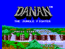 Обложка игры Danan the Jungle Fighter