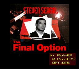 Обложка игры Steven Seagal is The Final Option Demo