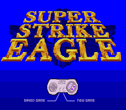 Игра Super Strike Eagle (Super Nintendo - snes)