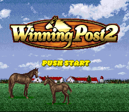 Обложка игры Winning Post 2 (Super Nintendo - snes)