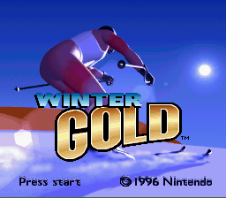Обложка игры Winter Gold (Super Nintendo - snes)