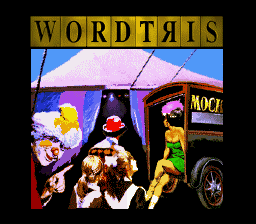 Обложка игры Wordtris (Super Nintendo - snes)