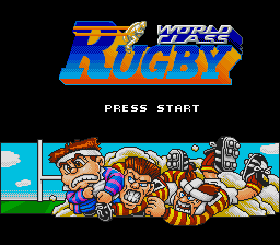 Обложка игры World Class Rugby (Super Nintendo - snes)