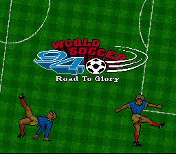 Обложка игры World Soccer 94 - Road to Glory (Super Nintendo - snes)