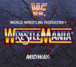 Обложка игры WWF WrestleMania - The Arcade Game (Super Nintendo - snes)
