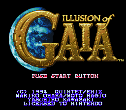 Обложка игры Illusion of Gaia (Super Nintendo - snes)