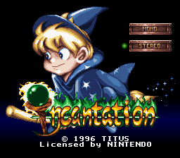 Обложка игры Incantation (Super Nintendo - snes)