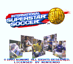 Обложка игры International Superstar Soccer Deluxe (Super Nintendo - snes)