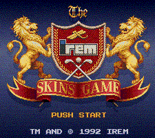 Обложка игры Irem Skins Game, The (Super Nintendo - snes)
