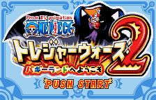 Обложка игры From TV Animation - One Piece - Treasure Wars 2 - Buggy Land e Youkoso (WonderSwan Color - wsc)